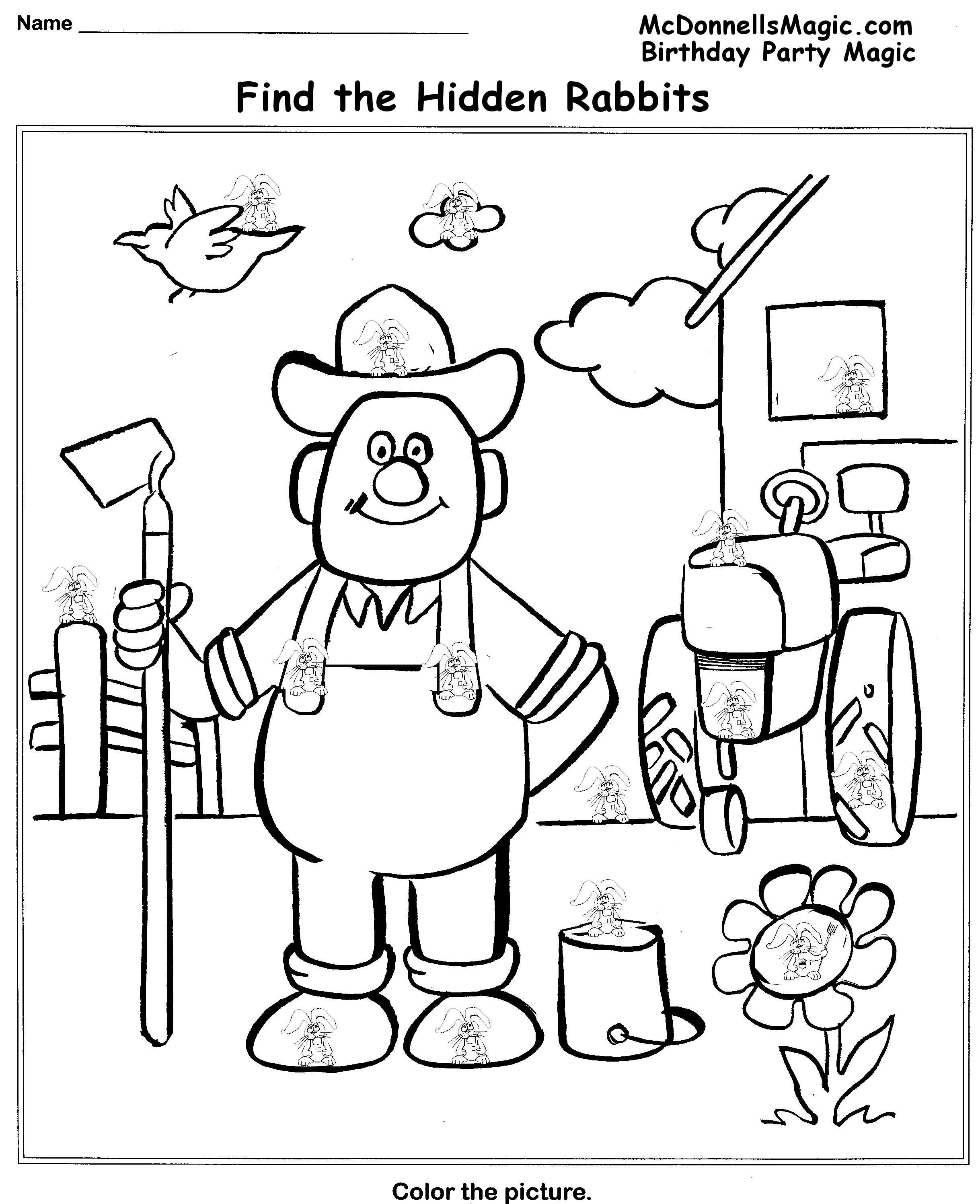 Find The Hidden Pictures Worksheets Sharebrowse – Hidden Picture Worksheets